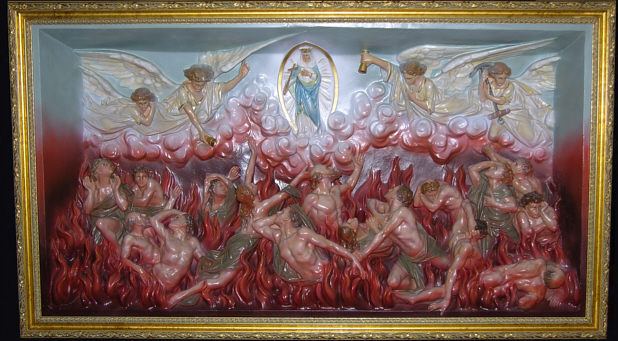 The Suffering Souls in Purgatory